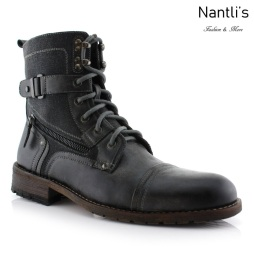 Botas para Hombre PF-ASHER Grey Mayoreo Wholesale Men's Fashion Boots Nantlis