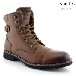 Botas para Hombre PF-BRADY Brown Mayoreo Wholesale Men's Fashion Boots Nantlis
