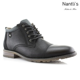 Botas para Hombre PF-BRENTON Black Mayoreo Wholesale Men's Fashion Boots Nantlis