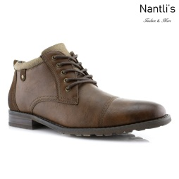 Botas para Hombre PF-BRENTON Brown Mayoreo Wholesale Men's Fashion Boots Nantlis
