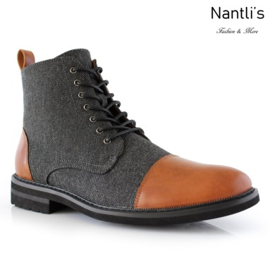 Botas para Hombre PF-BROOKE Brown Mayoreo Wholesale Men's Fashion Boots Nantlis