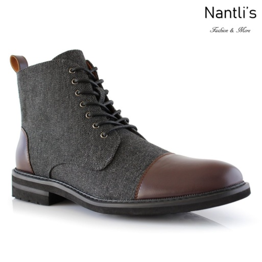 Botas para Hombre PF-BROOKE Dark Brown Mayoreo Wholesale Men's Fashion Boots Nantlis