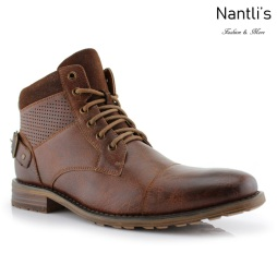 Botas para Hombre PF-CHRISTOPHER Brown Mayoreo Wholesale Men's Fashion Boots Nantlis