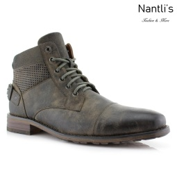 Botas para Hombre PF-CHRISTOPHER Grey Mayoreo Wholesale Men's Fashion Boots Nantlis