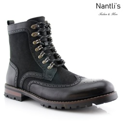 Botas para Hombre PF-COHEN Black Mayoreo Wholesale Men's Fashion Boots Nantlis