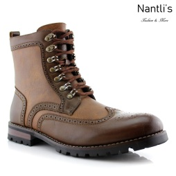 Botas para Hombre PF-COHEN Brown Mayoreo Wholesale Men's Fashion Boots Nantlis