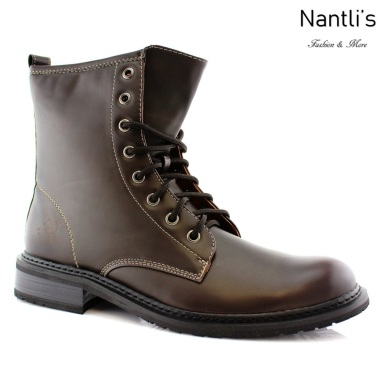 Botas para Hombre PF-EUGENE Brown Mayoreo Wholesale Men's Fashion Boots Nantlis