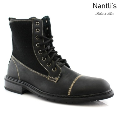 Botas para Hombre PF-EVANT Black Mayoreo Wholesale Men's Fashion Boots Nantlis