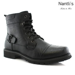 Botas para Hombre PF-FABIAN Black Mayoreo Wholesale Men's Fashion Boots Nantlis