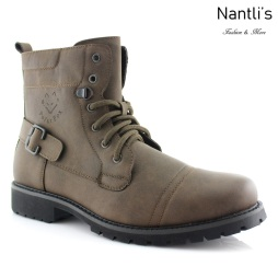 Botas para Hombre PF-FABIAN Brown Mayoreo Wholesale Men's Fashion Boots Nantlis