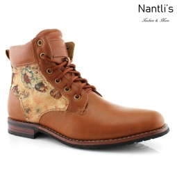 Botas para Hombre PF-HARRY Brown Mayoreo Wholesale Men's Fashion Boots Nantlis
