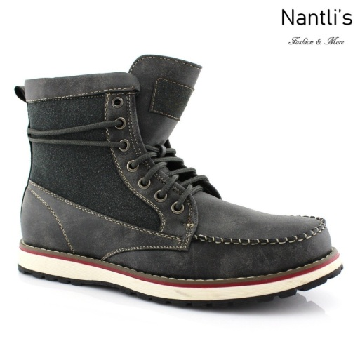 Botas para Hombre PF-JASPER Grey Mayoreo Wholesale Men's Fashion Boots Nantlis