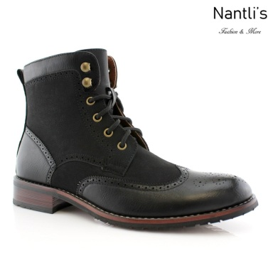 Botas para Hombre PF-JONAH Black Mayoreo Wholesale Men's Fashion Boots Nantlis