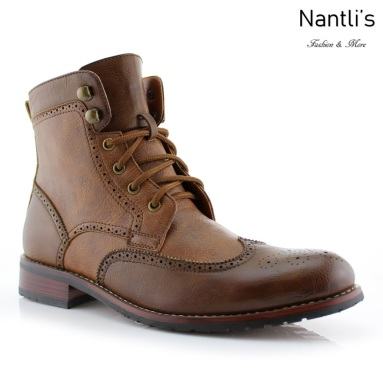 Botas para Hombre PF-JONAH Brown Mayoreo Wholesale Men's Fashion Boots Nantlis