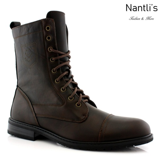 Botas para Hombre PF-JONATHAN Brown Mayoreo Wholesale Men's Fashion Boots Nantlis