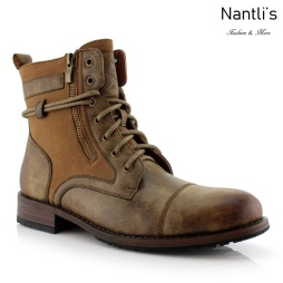 Botas para Hombre PF-KANYE Brown Camel Mayoreo Wholesale Men's Fashion Boots Nantlis
