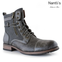 Botas para Hombre PF-KANYE Grey Mayoreo Wholesale Men's Fashion Boots Nantlis