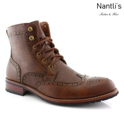 Botas para Hombre PF-LARRY Brown Mayoreo Wholesale Men's Fashion Boots Nantlis