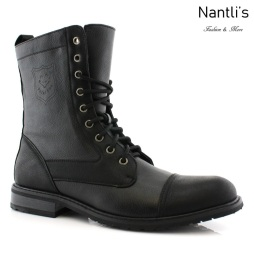 Botas para Hombre PF-LUKE Black Mayoreo Wholesale Men's Fashion Boots Nantlis