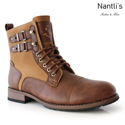 Botas para Hombre PF-MITCH Brown Mayoreo Wholesale Men's Fashion Boots Nantlis