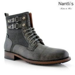 Botas para Hombre PF-MITCH Grey Mayoreo Wholesale Men's Fashion Boots Nantlis