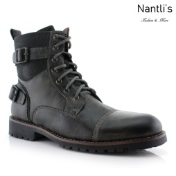 Botas para Hombre PF-PATRICK Grey Mayoreo Wholesale Men's Fashion Boots Nantlis