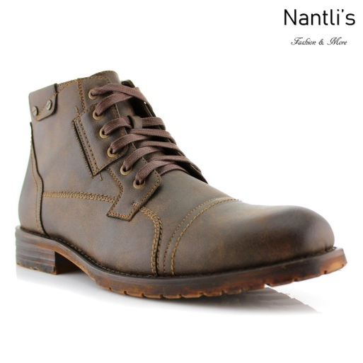 Botas para Hombre PF-RONNY Brown Mayoreo Wholesale Men's Fashion Boots Nantlis