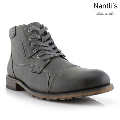 Botas para Hombre PF-RONNY Grey Mayoreo Wholesale Men's Fashion Boots Nantlis