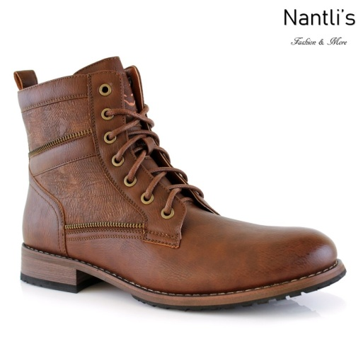 Botas para Hombre PF-ROY Brown Mayoreo Wholesale Men's Fashion Boots Nantlis