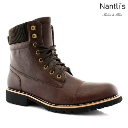 Botas para Hombre PF-WILSON Brown Mayoreo Wholesale Men's Fashion Boots Nantlis