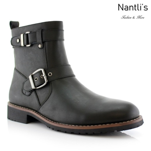 Botas para Hombre PF-WYATT Black Mayoreo Wholesale Men's Fashion Boots Nantlis