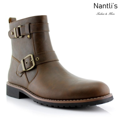Botas para Hombre PF-WYATT Brown Mayoreo Wholesale Men's Fashion Boots Nantlis