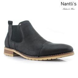 Botines para Hombre FA-STERLING Black Mayoreo Wholesale Men's Fashion Chelsea Boots Nantlis