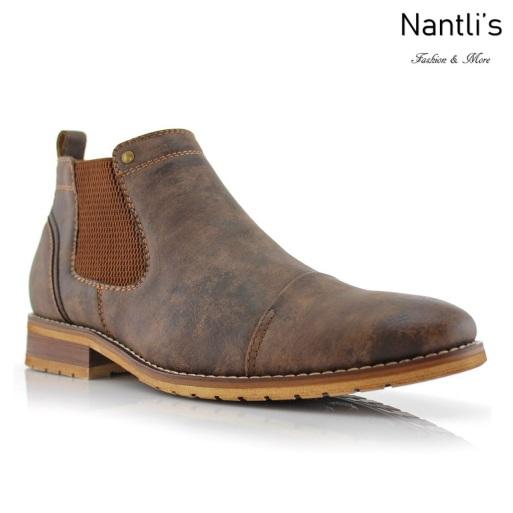 Botines para Hombre FA-STERLING Brown Mayoreo Wholesale Men's Fashion Chelsea Boots Nantlis