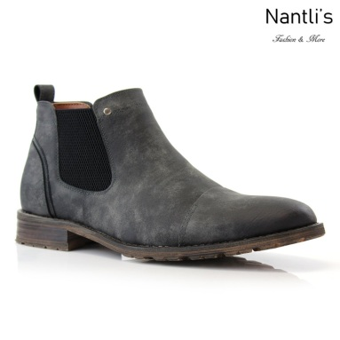 Botines para Hombre FA-STERLING Charcoal Mayoreo Wholesale Men's Fashion Chelsea Boots Nantlis