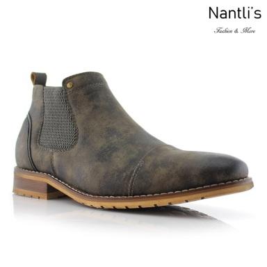 Botines para Hombre FA-STERLING Grey Mayoreo Wholesale Men's Fashion Chelsea Boots Nantlis