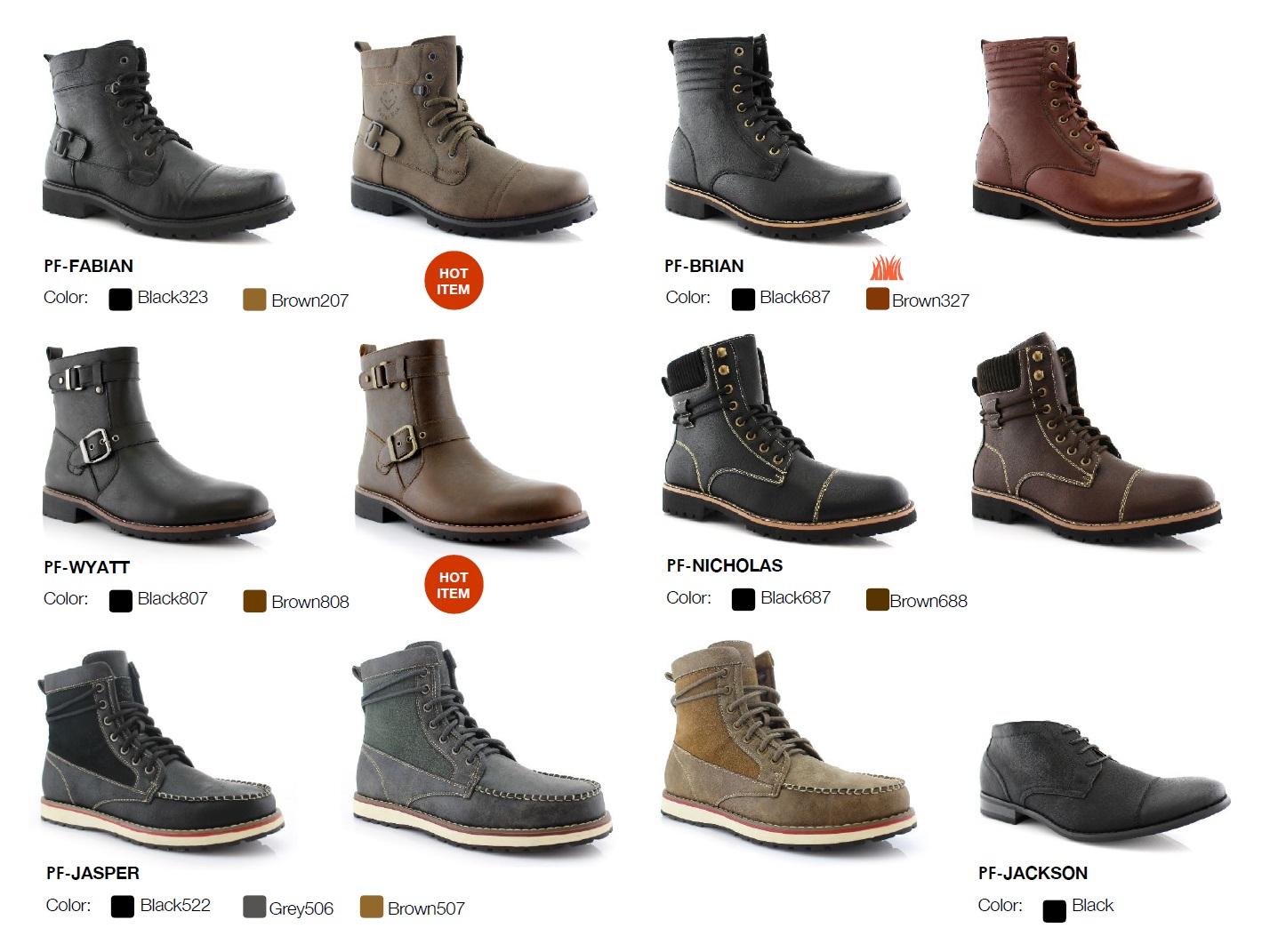 Nantlis Vol 43 Zapatos para Hombres Mayoreo Wholesale men shoes Catalogo Polar Fox Footwear_Page_07