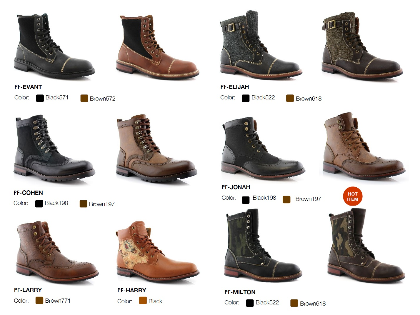 Nantlis Vol 43 Zapatos para Hombres Mayoreo Wholesale men shoes Catalogo Polar Fox Footwear_Page_08