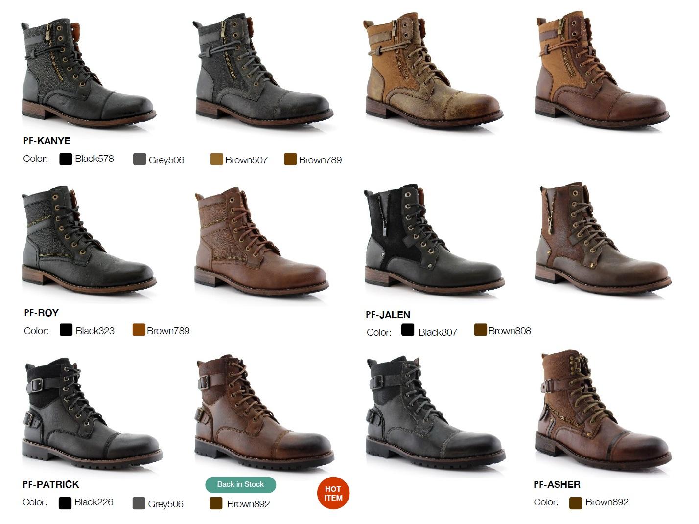 Nantlis Vol 43 Zapatos para Hombres Mayoreo Wholesale men shoes Catalogo Polar Fox Footwear_Page_10