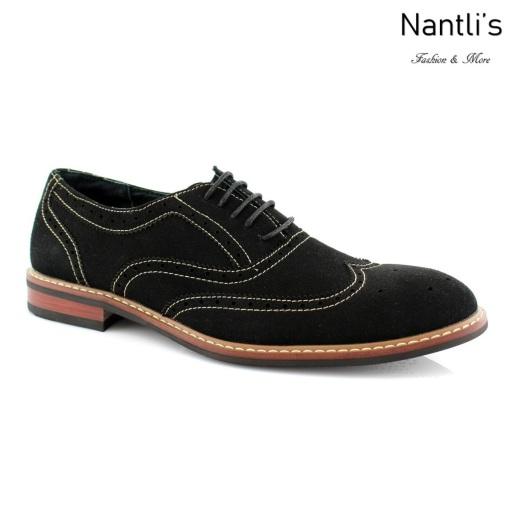Zapatos para Hombre FA-ABRAHAM Black 316 Mayoreo Wholesale Men's Fashion Shoes Nantlis