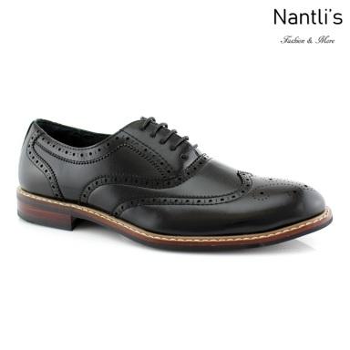 Zapatos para Hombre FA-ABRAHAM Black 85 Mayoreo Wholesale Men's Fashion Shoes Nantlis