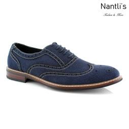 Zapatos para Hombre FA-ABRAHAM Blue Mayoreo Wholesale Men's Fashion Shoes Nantlis