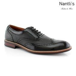 Zapatos para Hombre FA-ADAM Black Mayoreo Wholesale Men's Fashion Shoes Nantlis