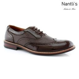 Zapatos para Hombre FA-ADAM Dark Brown Mayoreo Wholesale Men's Fashion Shoes Nantlis