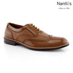 Zapatos para Hombre FA-ADAM Light Brown Mayoreo Wholesale Men's Fashion Shoes Nantlis