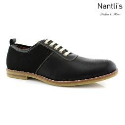 Zapatos para Hombre FA-ADRIAN Black Mayoreo Wholesale Men's Fashion Shoes Nantlis