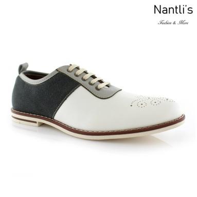 Zapatos para Hombre FA-ADRIAN White Mayoreo Wholesale Men's Fashion Shoes Nantlis