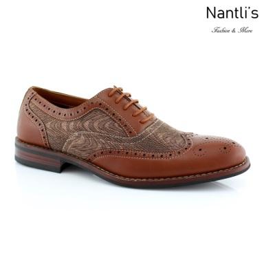 Zapatos para Hombre FA-ALAN Brown Mayoreo Wholesale Men's Fashion Shoes Nantlis