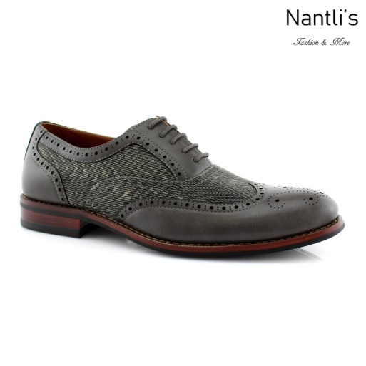 Zapatos para Hombre FA-ALAN Grey Mayoreo Wholesale Men's Fashion Shoes Nantlis