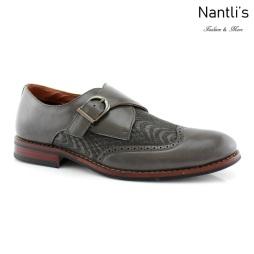 Zapatos para Hombre FA-ALFRED Grey Mayoreo Wholesale Men's Fashion Shoes Nantlis